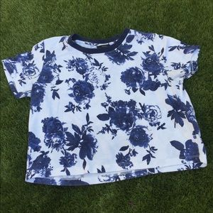 Floral Boxy Tee